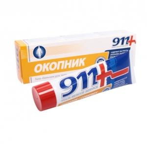 911 Serie.*Okopnik*Kosmetik Gel-Balsam für den Körper 100 ml