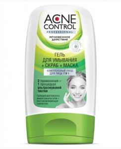 FK Acne Control Professional Reinigungsgel + Peeling + Maske 150ml.