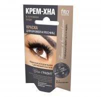 Fitokosmetik. Augenbrauen- undWimpernfarbe grafit.4 ml
